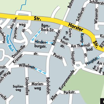 Karte von Bad Nenndorf - Stadtplandienst Deutschland
