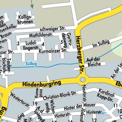 Karte von Duderstadt - Stadtplandienst Deutschland