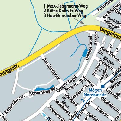 baden karte deutschland