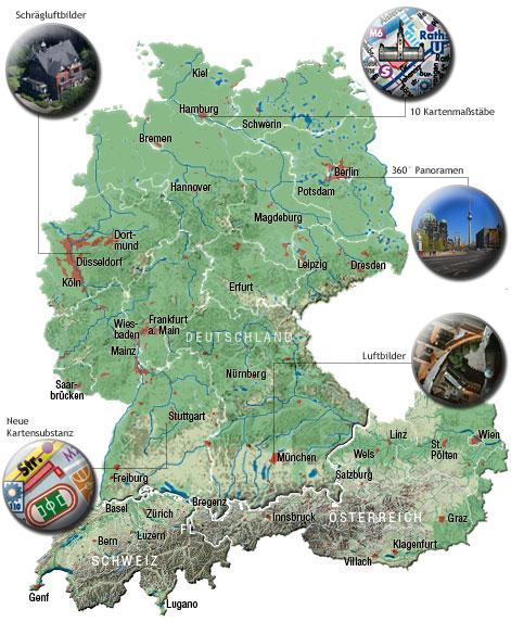 Karte Baden Württemberg Kostenlos.Deutschlandkarte Kostenlos Mit Luftbildern Zum Drucken