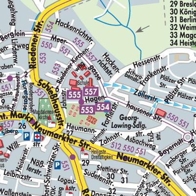 Nürnberg Karte Deutschland.Karte Von Altdorf Bei Nürnberg Stadtplandienst Deutschland