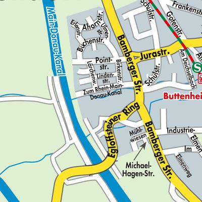Oberfranken Karte.Karte Von Altendorf Stadtplandienst Deutschland