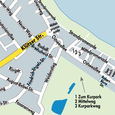 Karte Von Boltenhagen Stadtplandienst Deutschland