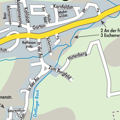 Schwaben Karte Deutschland.Karte Von Ehingen Stadtplandienst Deutschland