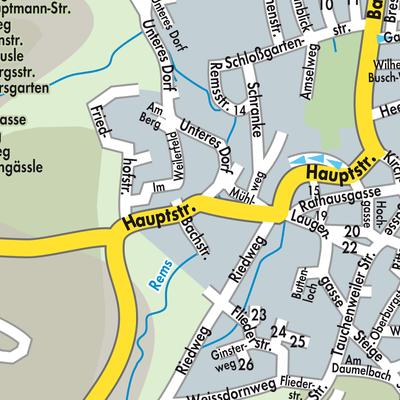 Ostalbkreis Karte.Karte Von Essingen Stadtplandienst Deutschland
