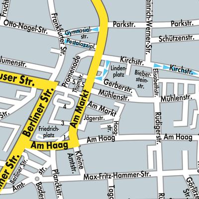 Lausitz Karte.Karte Von Forst Lausitz Stadtplandienst Deutschland