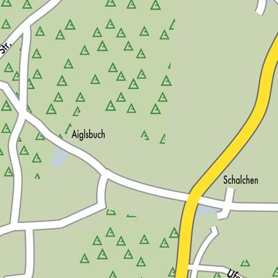 Chiemsee Karte.Karte Von Gstadt Am Chiemsee Stadtplandienst Deutschland