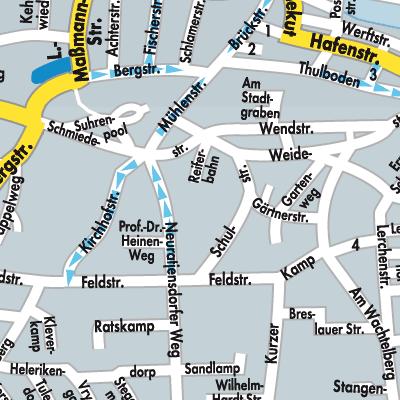 heiligenhafen karte deutschland Karte von Heiligenhafen   Stadtplandienst Deutschland