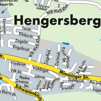 Stadtplan Hengersberg
