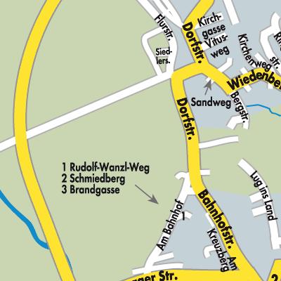 Schwaben Karte Deutschland.Karte Von Kirchheim In Schwaben Stadtplandienst Deutschland