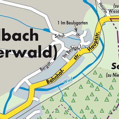 Westerwald Karte.Karte Von Seelbach Westerwald Stadtplandienst Deutschland