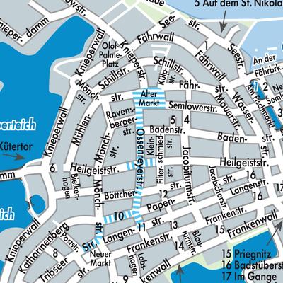 Stralsund Karte.Karte Von Stralsund Stadtplandienst Deutschland