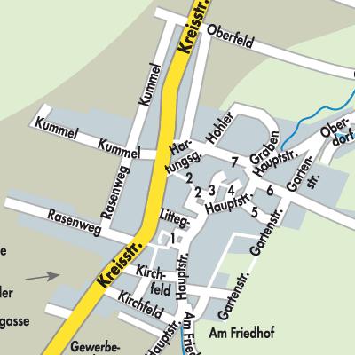 Nordhausen Karte.Karte Von Urbach Stadtplandienst Deutschland