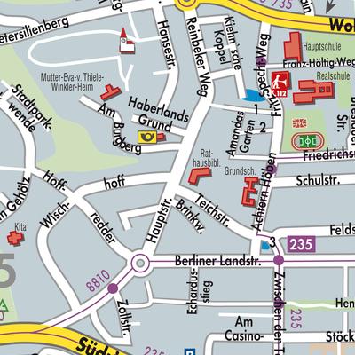 Karte Von Wentorf Bei Hamburg Stadtplandienst Deutschland